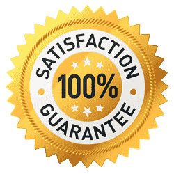 100% Satisfaction Warranty